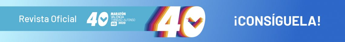 Revista 40 Aniversario Maraton Valencia