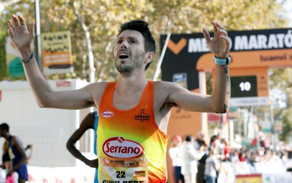 Chiki Pérez, favorito en el Campeonato de España de 10.000 m